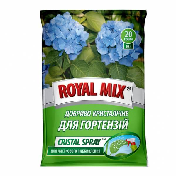 Royal Mix cristal spray для гортензії для листового підживлення