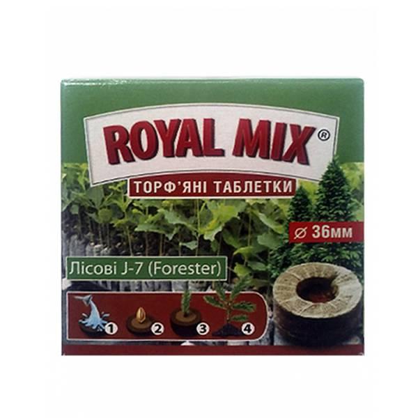 """Rоyal Mix Торф'яні таблетки """"Лісові J-7 (Forester)"""", 25 мм, 36мм"""