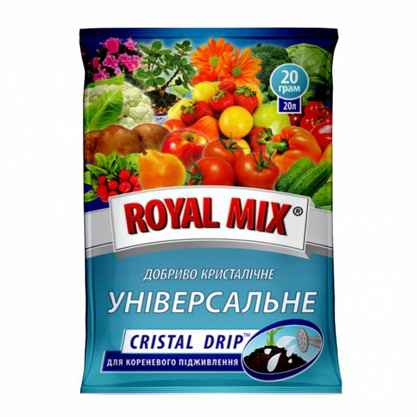 Royal Mix cristal drip универсальное