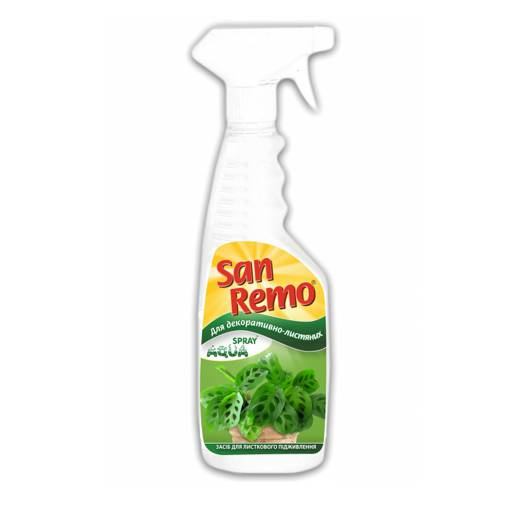 San Remo Aqua Spray удобрение для декоративно-лиственных растений