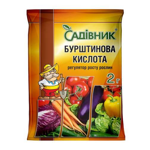 """Бурштинова кислота """"Садівник"""""""