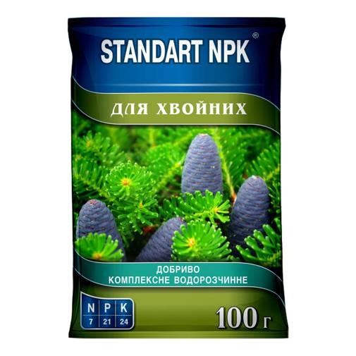 Standart NPK Комплексное водорастворимое удобрение для хвойных