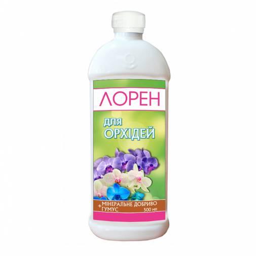 Лорен удобрение+гумус для орхидей